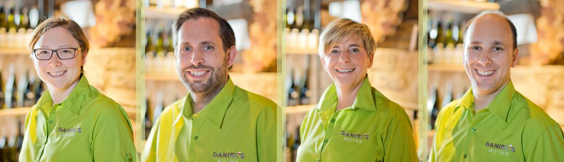 Daniels Weine Team