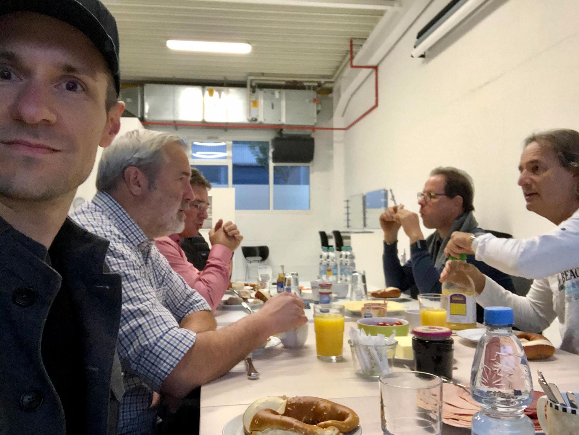 Dienstleisterfrühstück Ralf Klamann