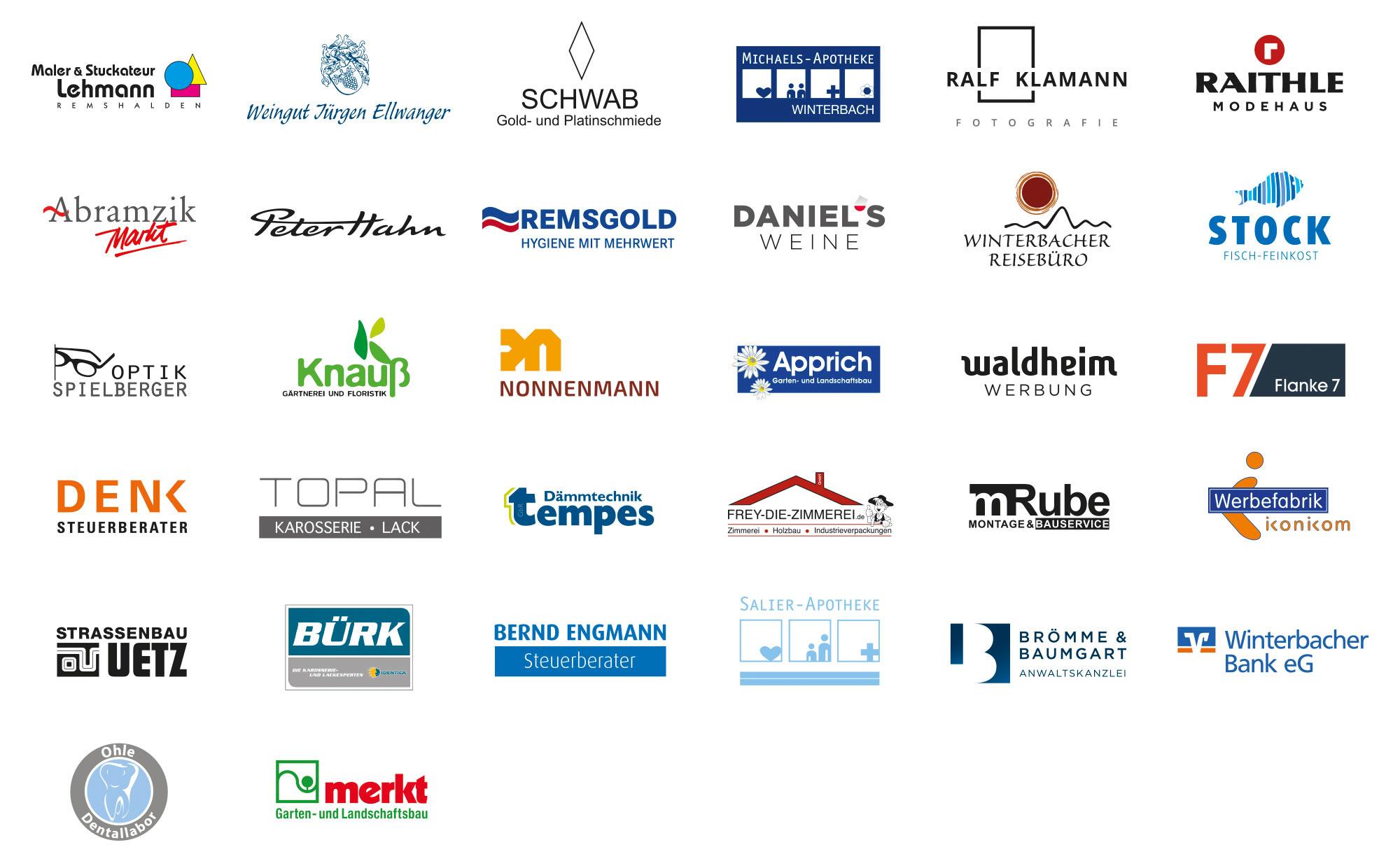 Lichtmessball 2020 Sponsoren
