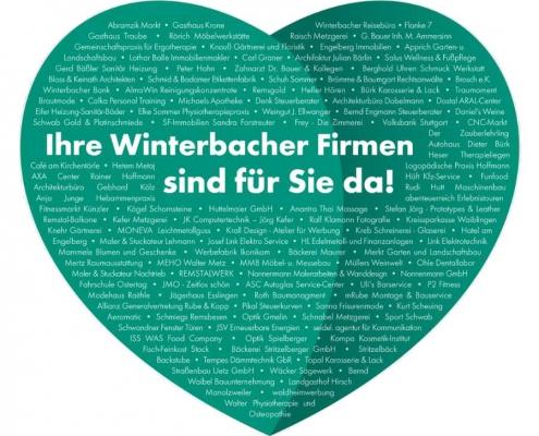 Winterbach ist für Sie da!